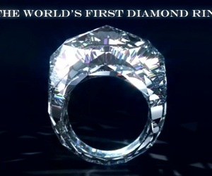 World's First Diamond Ring Carved Entirely From Diamond