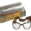 Wwii-ao-air-way-aviation-goggles-in-original-box-s