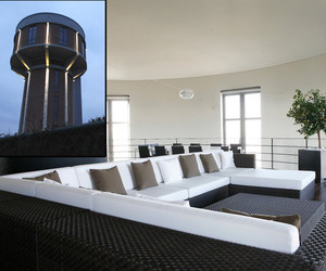 WWII Watertower Conversion | Bham Design Studio