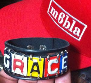Grace leather bracelet