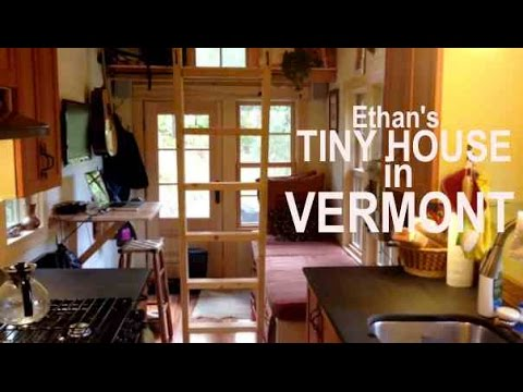 Ethan's Tiny House in Vermont- Copper Showers and Secret Pet Doors…