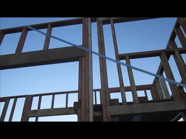 Take-Me-Home Tiny House – Strengthening Wall Frame