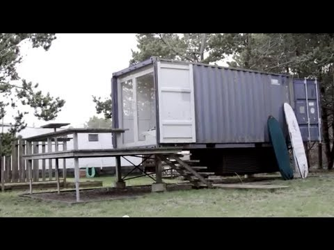 A Seattle Shipping Container Tiny House/Home… THX 1138 George Lucas inspired