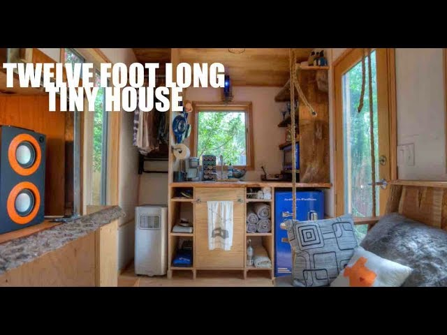 This TWELVE FOOT Steam Punk Tiny House Has It All!