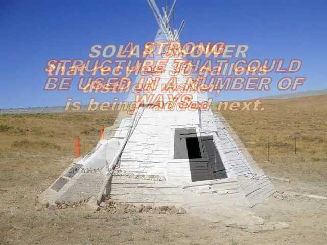 TEEPEE WITH SOLAR TOILET