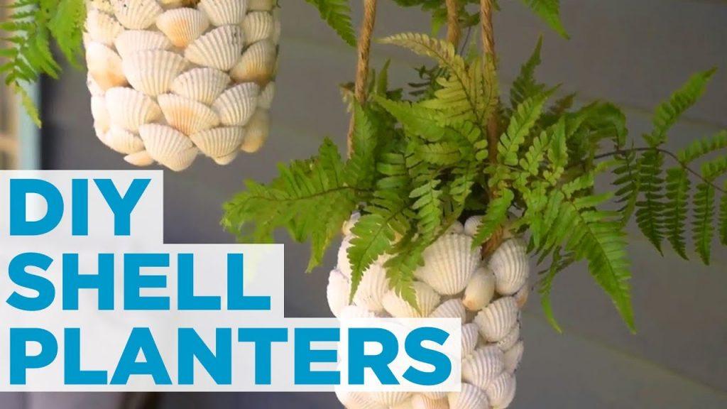 DIY Hanging Shell Planter – HGTV