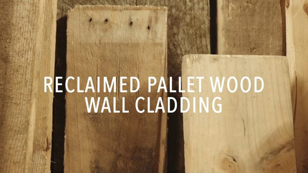 Pallet Wood Wall Cladding by Lock and Key Creations