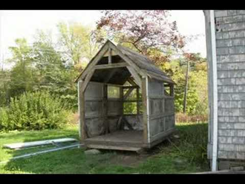 Making a shed out of scrap