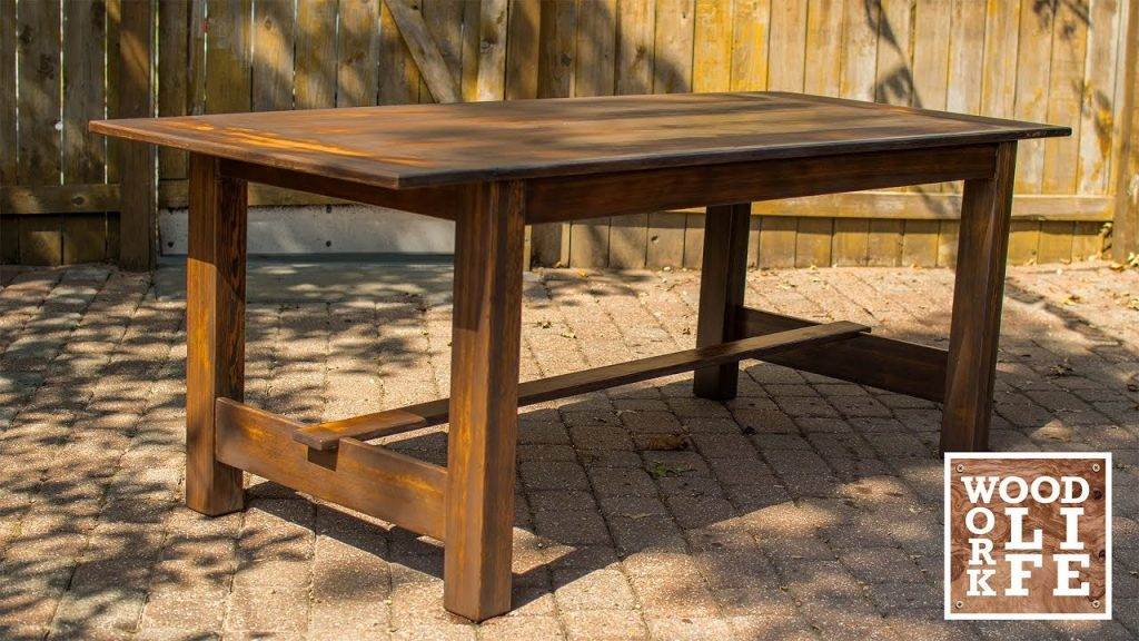 How To Build a Modern Dining Room Table Out of Old Gymnasium Bleachers – WoodWorkLIFE Builds