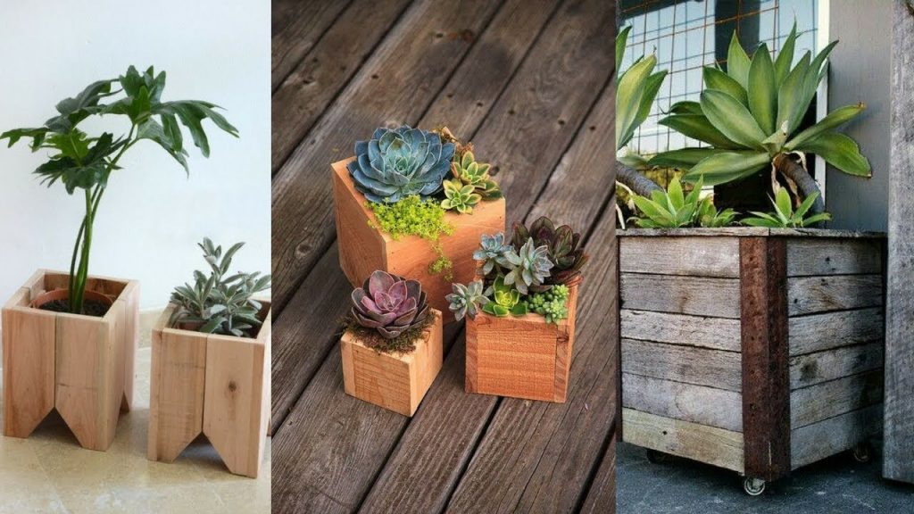 27+ Beautiful Wooden Planter Boxes – Let's Go Green