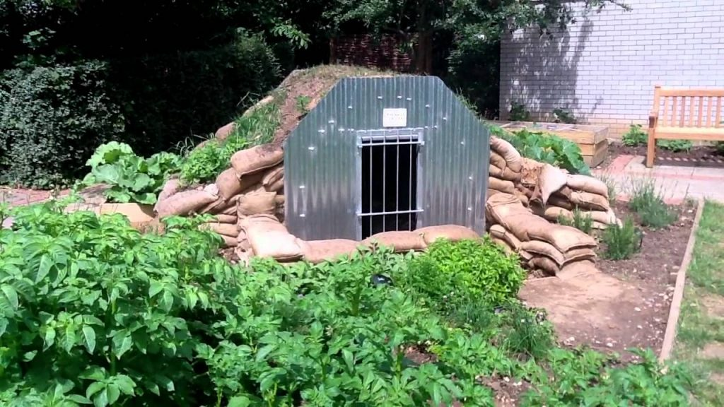 Anderson Shelter at Valence House