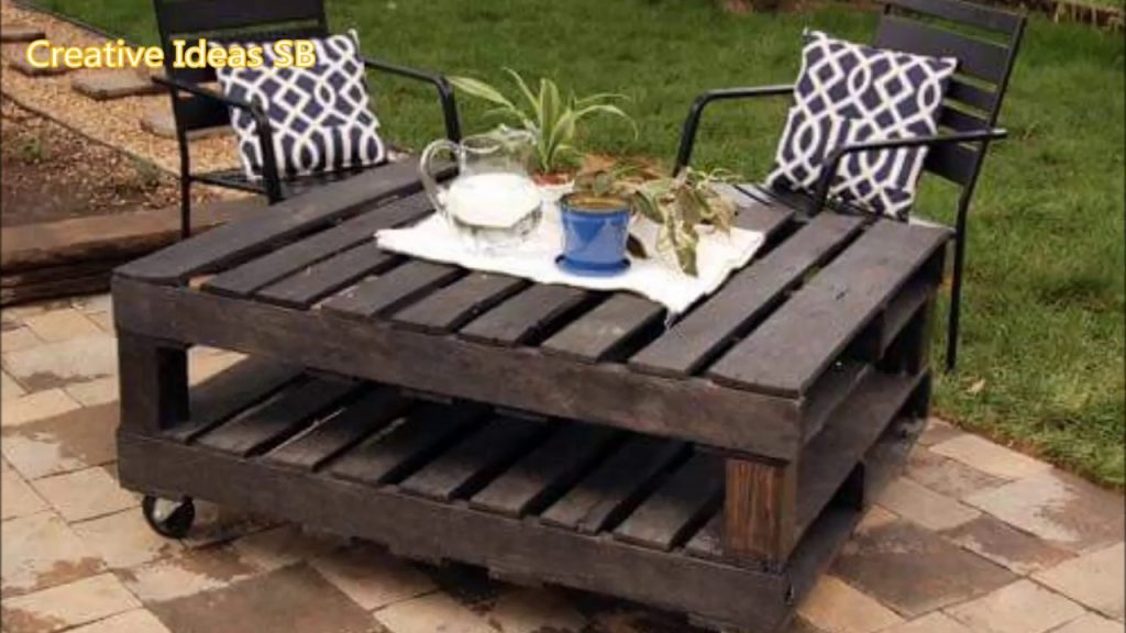 Amazing Creative DIY Pallet Furniture Ideas – Cheap Recycled Pallet – Chair Bed Table Sofa 2016 -ne