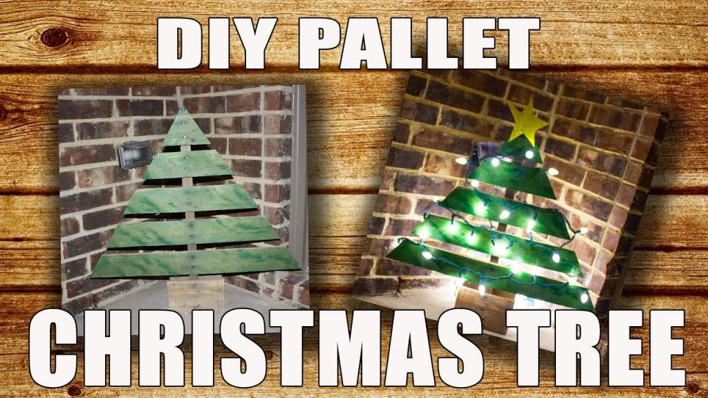 DIY Pallet Christmas Tree – Christmas Decor