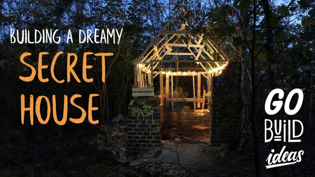 Building a SECRET PALLET HOUSE