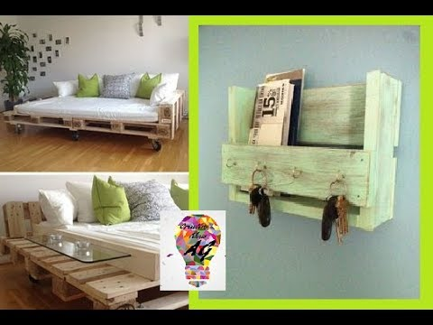 Creative Pallet Ideas 2017 – Creative Ways To Recycle Wooden Pallets DIY Part 6