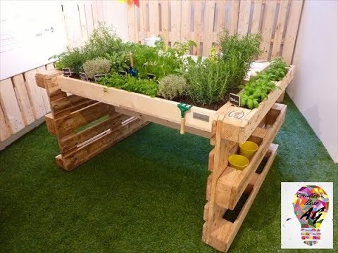 Creative Pallet Ideas 2017 – Creative Ways To Recycle Wooden Pallets DIY Part 7