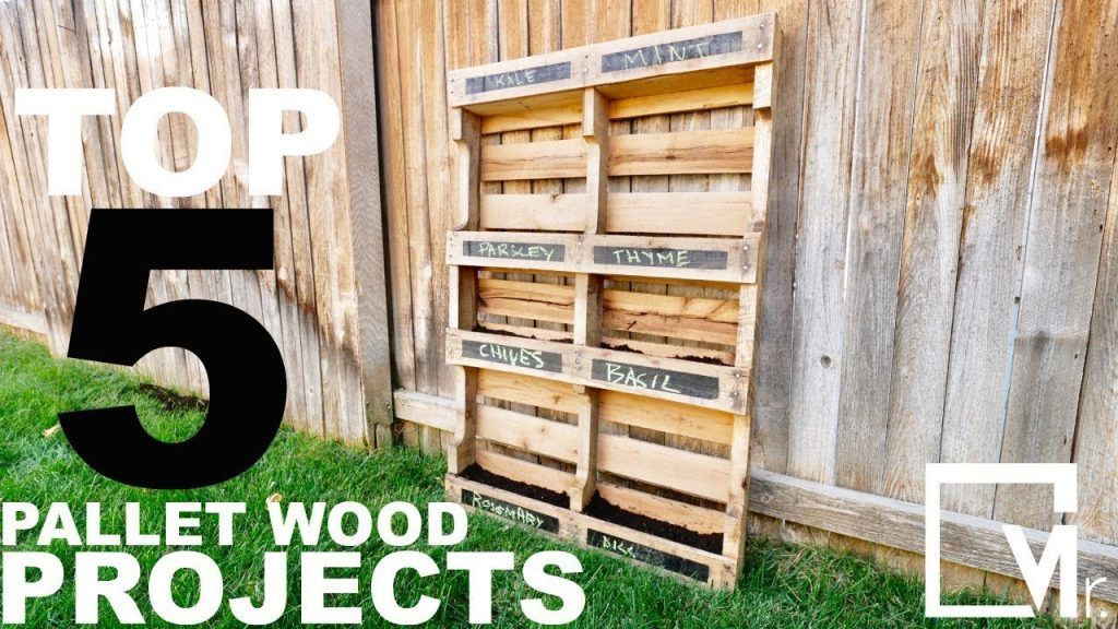 TOP 5 Making Reclaimed Pallet Wood Projects  Vlog