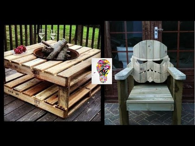 Creative Pallet Ideas  – Creative Ways To Recycle Wooden Pallets #8