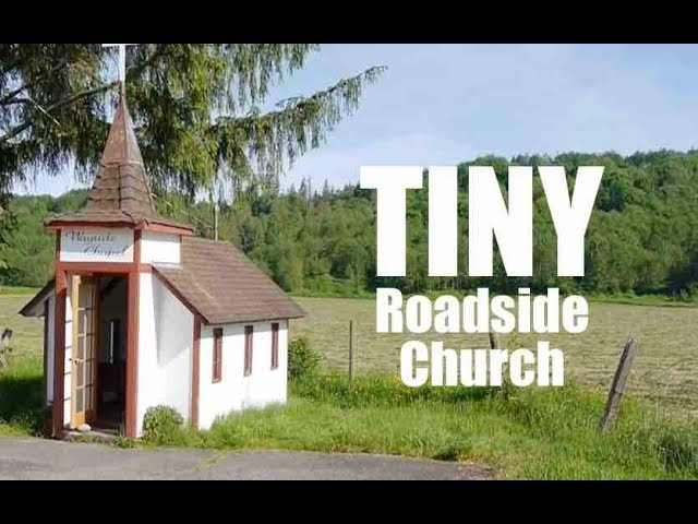 This TINY church house is only TEN FEET LONG!