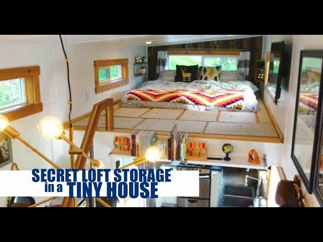 "Building ""Secret"" Storage in Your Tiny House Loft!"