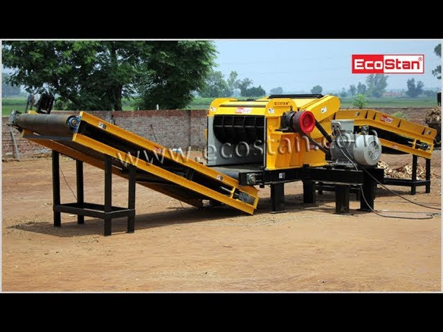 EcoStan® Heavy Duty Chipper Grinder | Chipping Tree Shavings and Arhar, Call Us @ +91-99140-33800