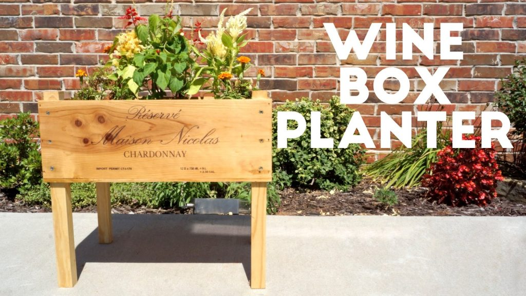 DIY Wine Box Planter | Modern Builds | EP. 38