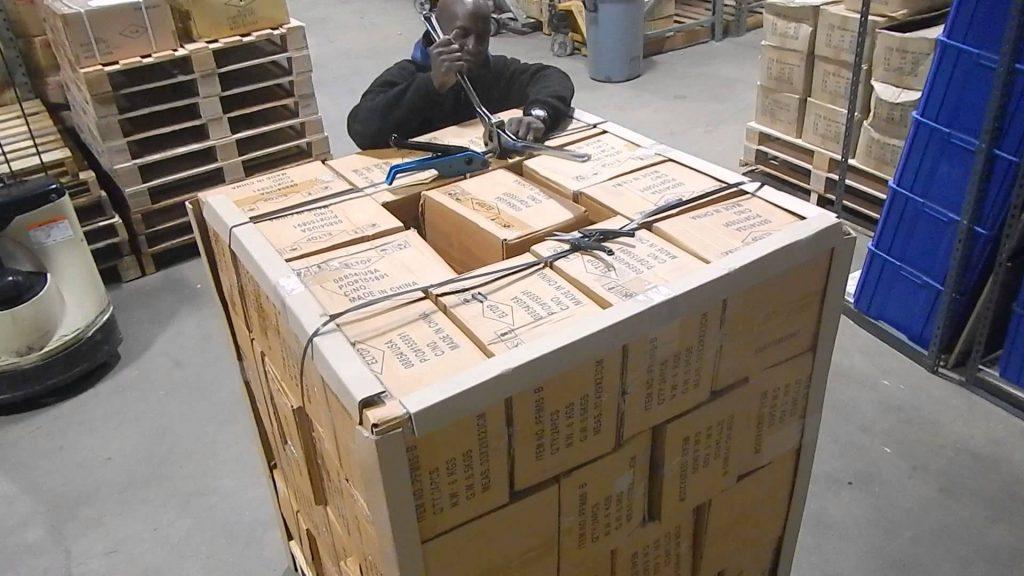 Pallet Preparation – BAFO/QCA Warehouse