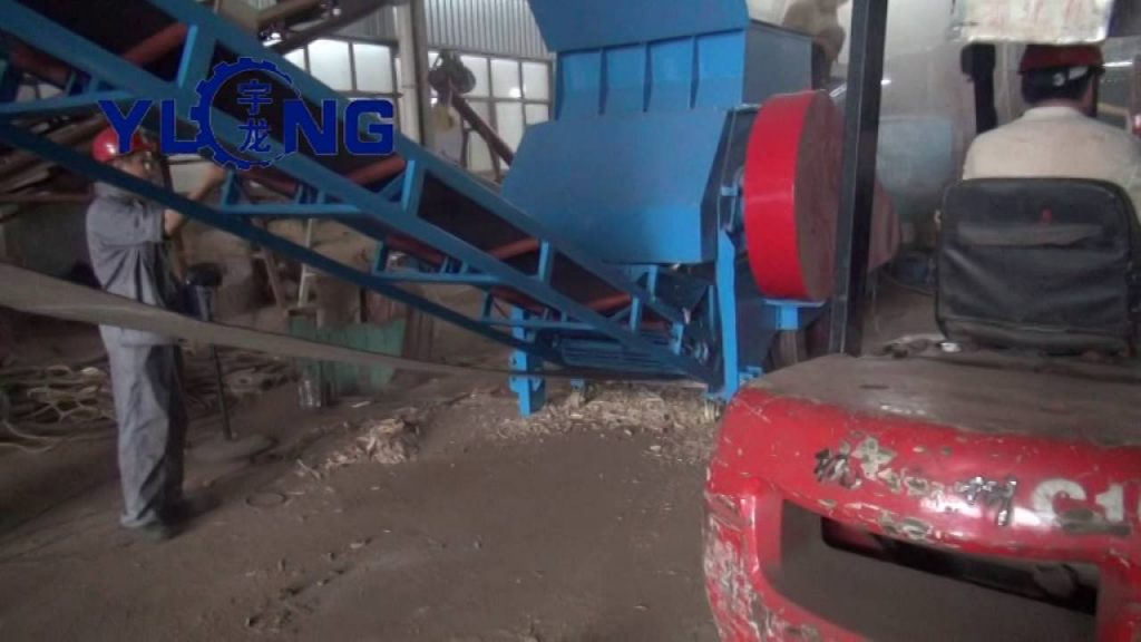 YULONG Wood pallet crusher