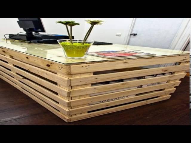 amazing diy ideas | 20 DIY Desk Ideas From Pallet