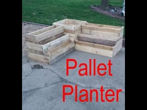 Pallet Planter Part One — Brian's Workshop