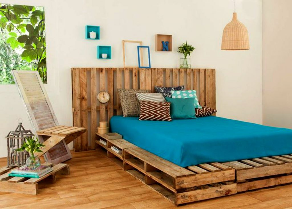 Over 50 Creative DIY Pallet Bed Ideas 2016 – Cheap Recycled – Amazing Bed Frame Designs Part.3