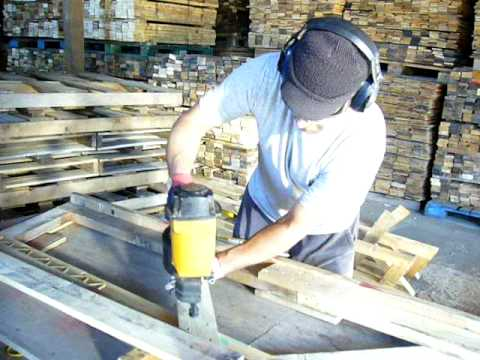 Pallet Roof Truss Construction