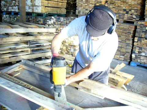 Pallet Roof Truss Construction
