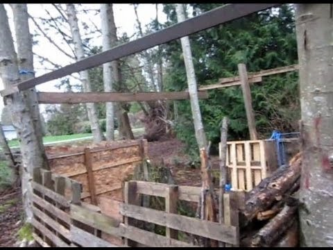 Airsoft Fort Made From Pallets