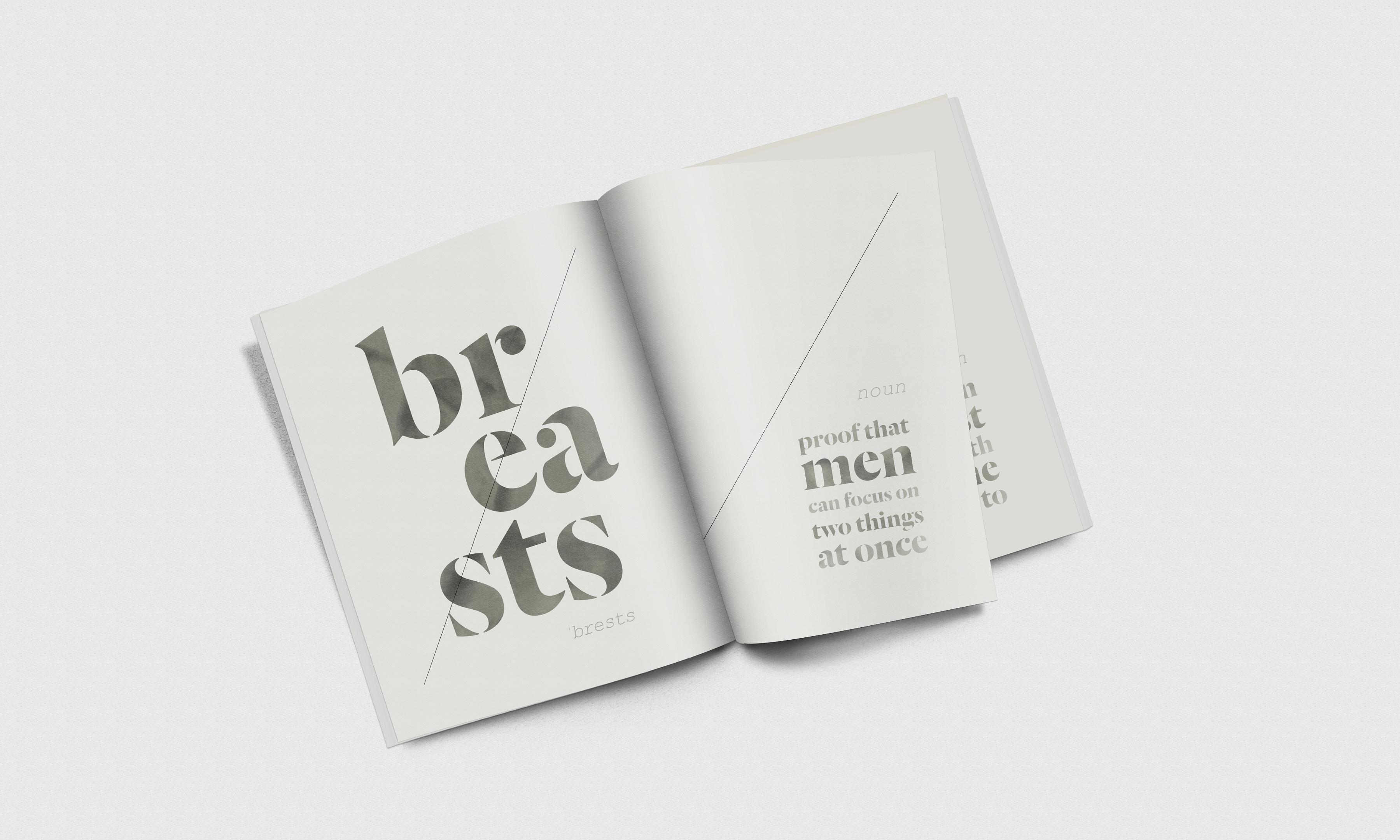Magazine breasts stone noun2