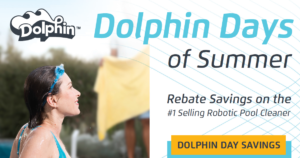 The 2019 Dolphin Days of Summer Rebate offer is good on purchases made May 1 thru July 31. (Pictured: Dolphin Days summary)