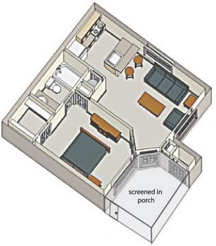 1 bed 1 bath 600 sq ft portofino apartments in orlando florida mckinley for 1 bedroom apartments in orlando under 600
