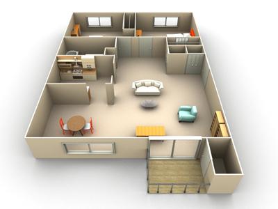 Bedroom townhouse floor plans on floor plans for 650 sq ft apt