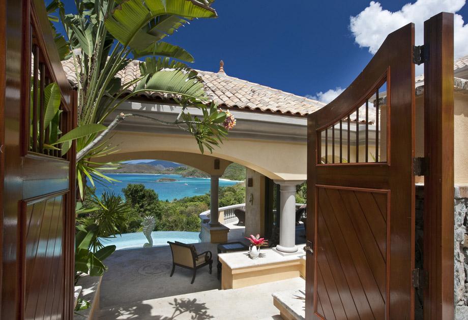 Delfina St John Villas Luxury Villa Rentals Of