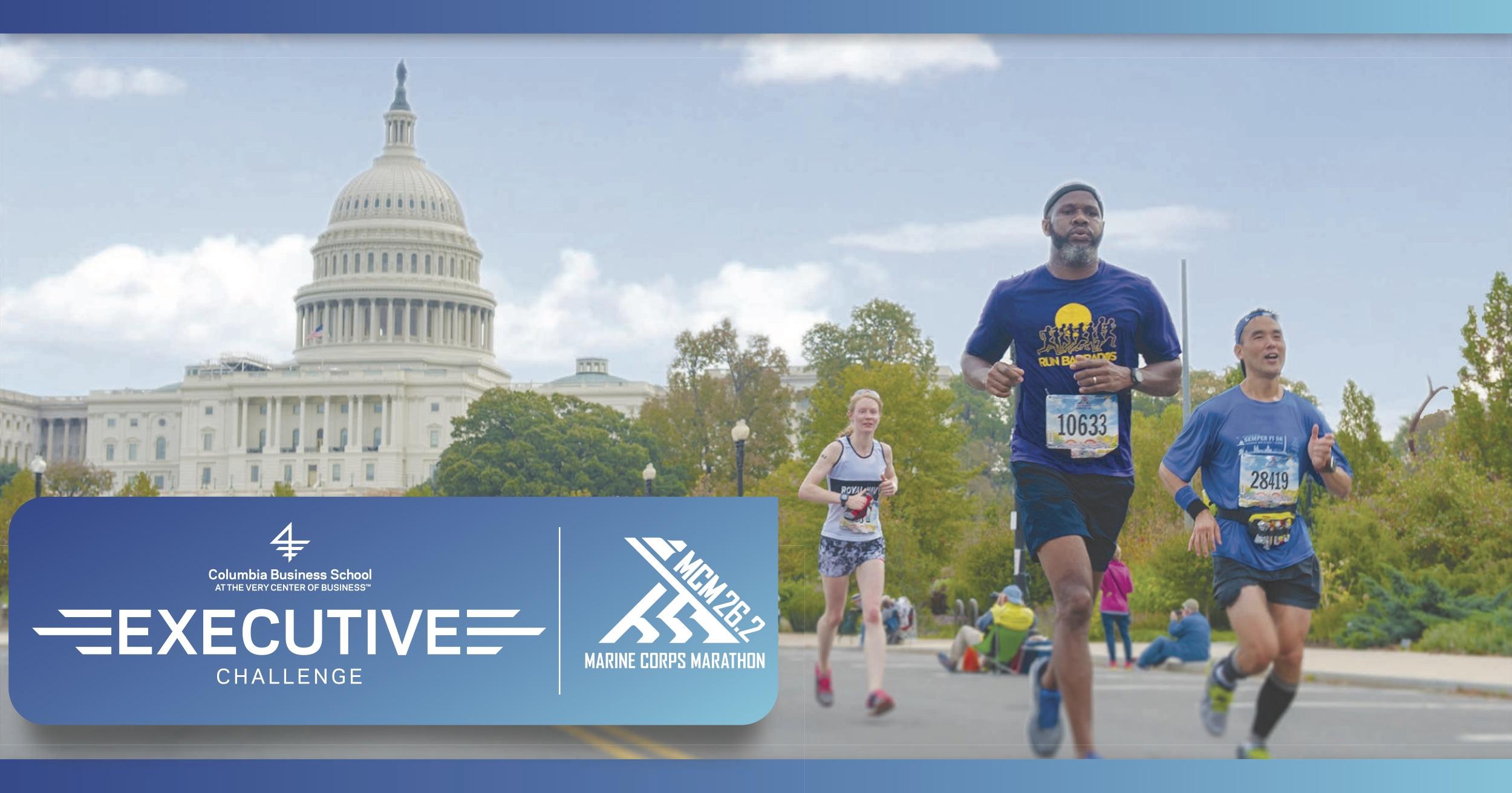 Like a boss executive challenge at mcm marine corps for Marine corps marathon shirt 2017