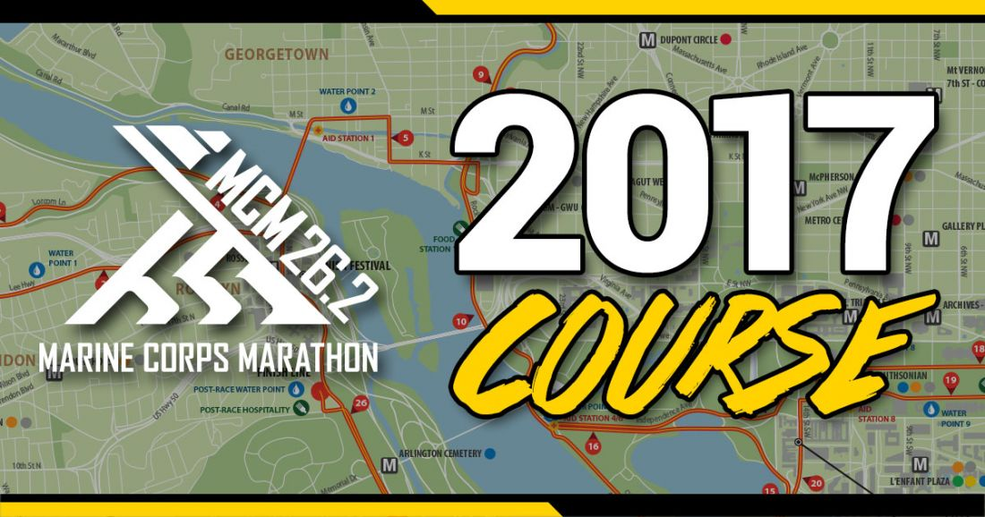 Four Changes to the 2017 Marine Corps Marathon Course ...