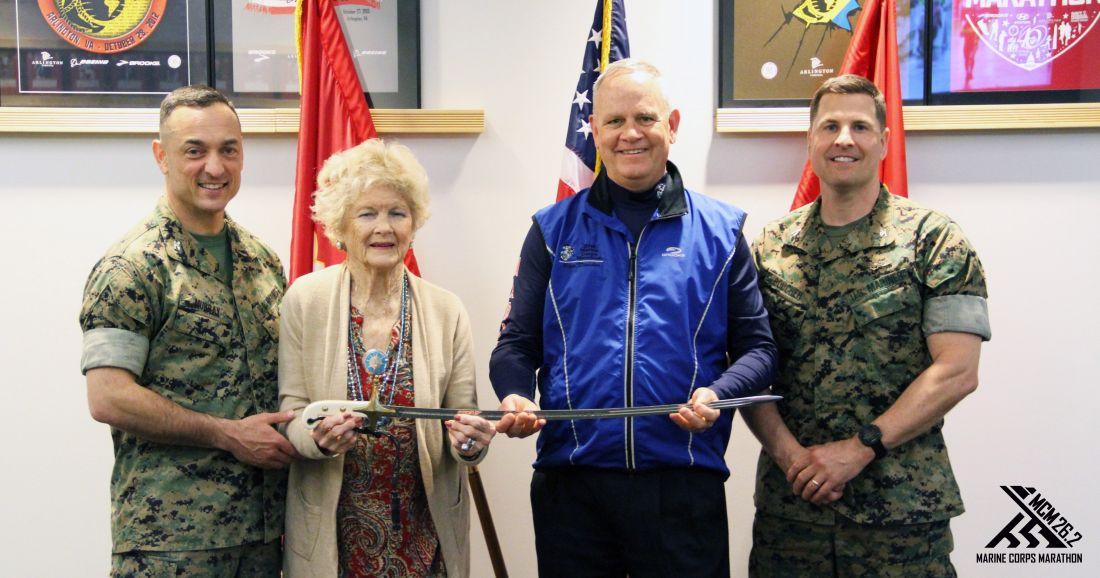 Col Fowler Marine Corps Marathon Quantico, VA