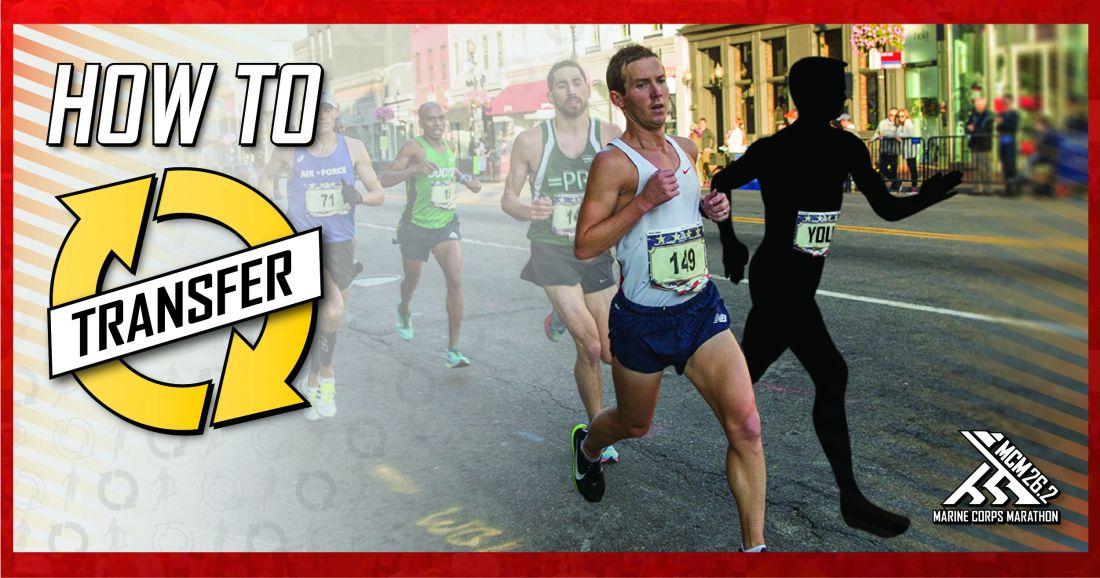 Marine Corps Marathon Transfer Program Registration