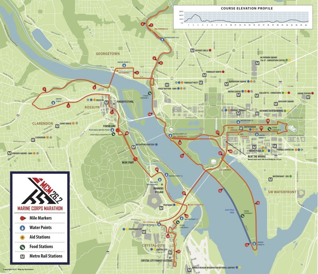 Course Maps - 43rd MCM