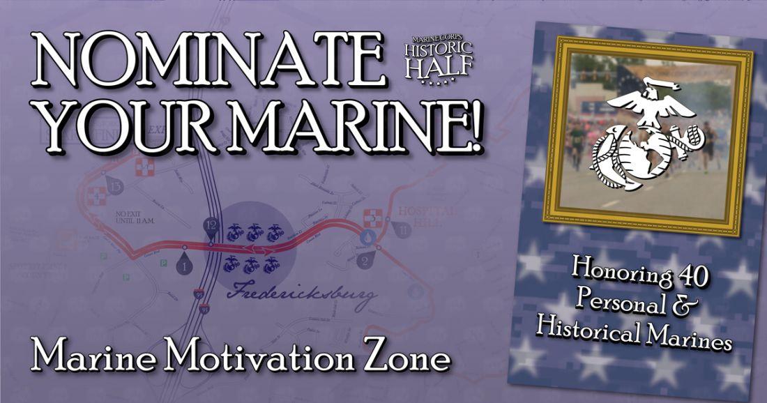 Historic Half Marine Corps Fredericksburg Virginia