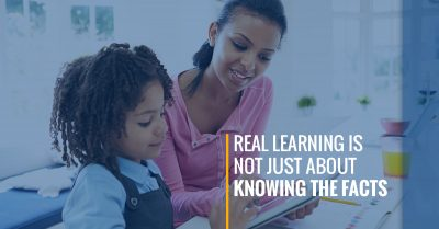 Real Learning is Not Just About Knowing the Facts