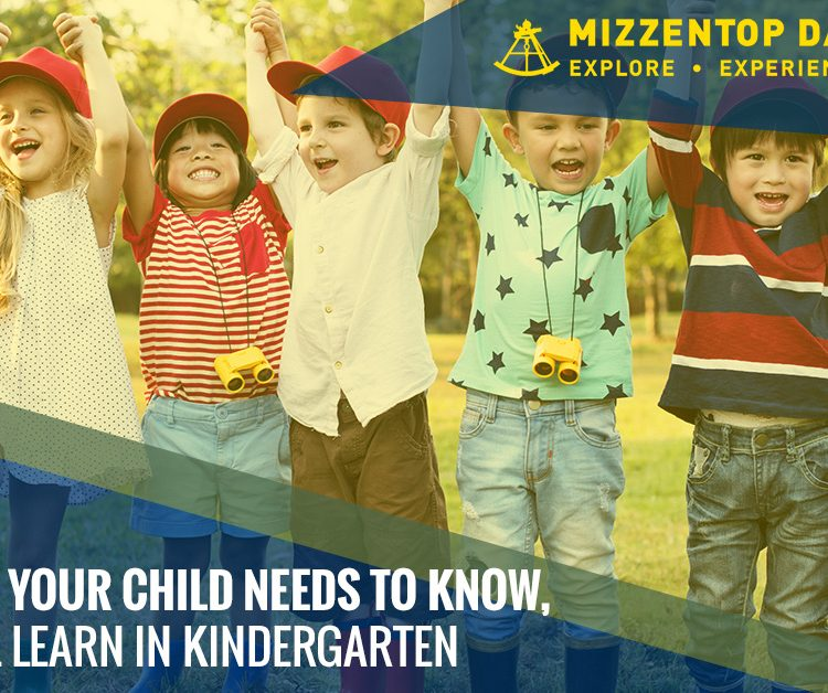Everything Your Child Needs to Know, They'll Learn in Kindergarten