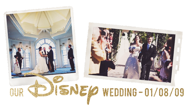 Disney Wedding 5th Year
