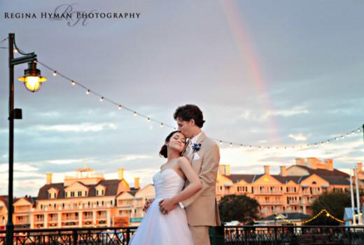 Disney's Beach Club Wedding: Catalina + Mark