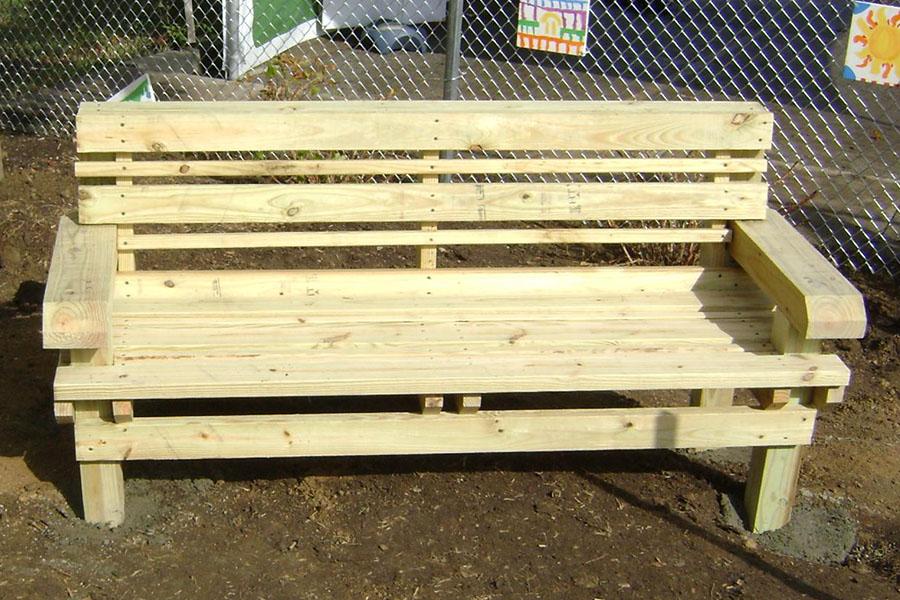 Mendocino bench 1